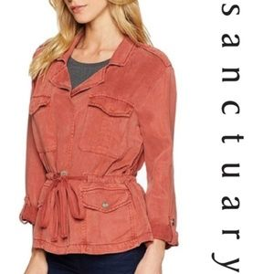 NWT Sanctuary Copper colored Field Jacket